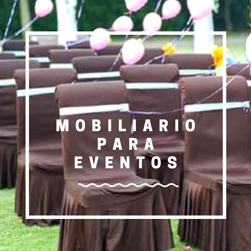 Mobiliario para Eventos - JOBA ESPECTÁCULOS