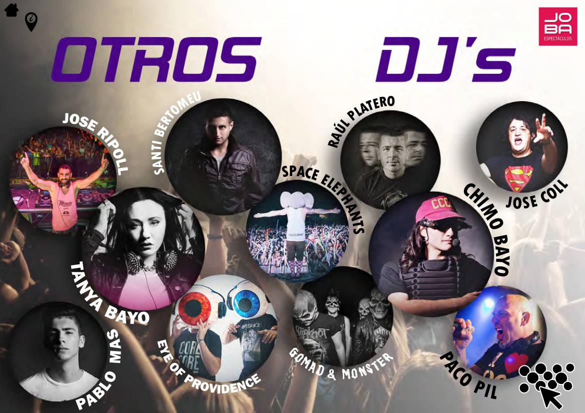 Contratacion DJS nacionales e internacionales - JOBA Espectáculos