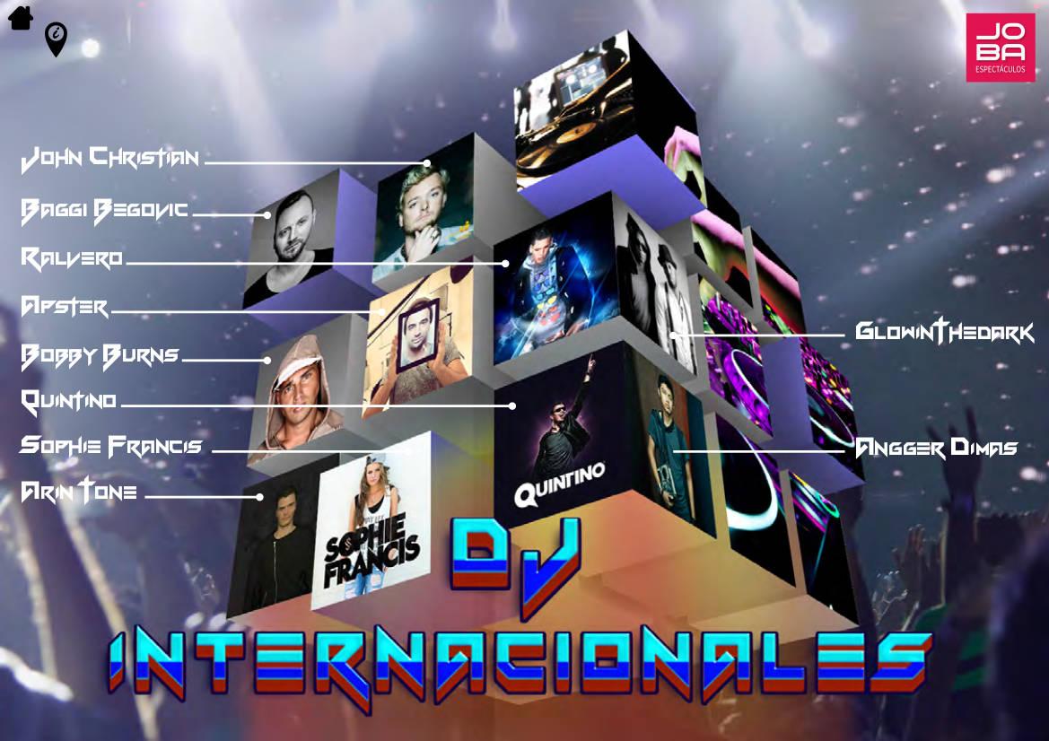 contratacion DJS internacionales - JOBA Espectáculos ¡Expertos en booking de DJ´S!