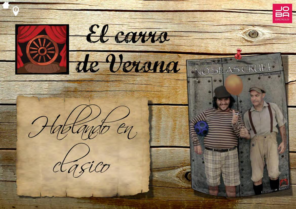contratar obra de teatro El Carro de la Varona - JOBA Espectáculos