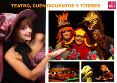 Teatro Infantil, Cuentacuentos y Títeres