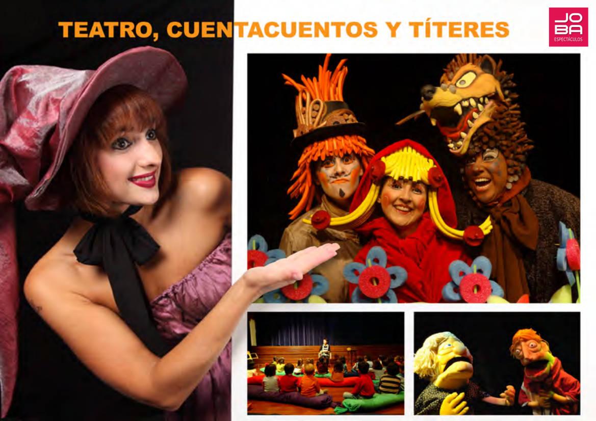teatro infantil, cuentacuentos y títeres - JOBA Espectáculos