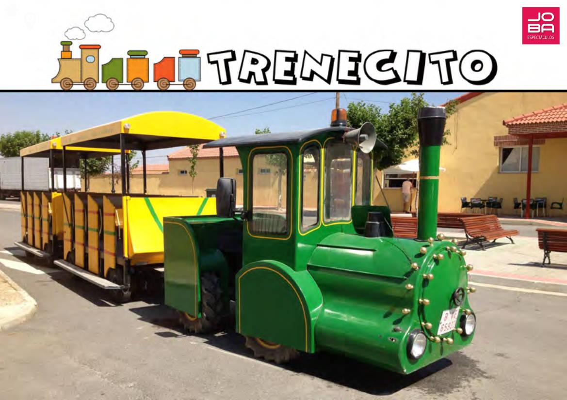 contrata el trenecito. Un tren infantil para tus fiestas infantiles, eventos, celebraciones, fiestas patronales, animación turística