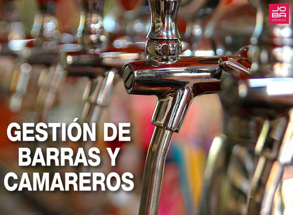 Servicio de gestión de barras y camareros para grandes eventos y espectáculos, conciertos, festivales - Servicio a toda España
