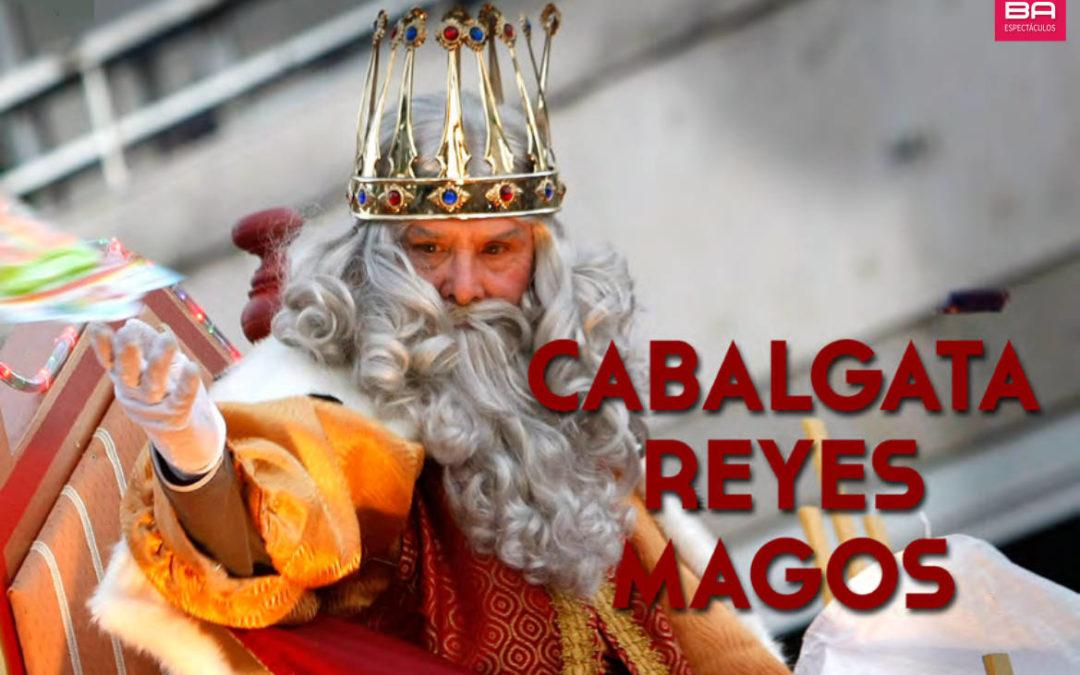 Contratar cabalgata de Reyes Magos - JOBA Espectáculos