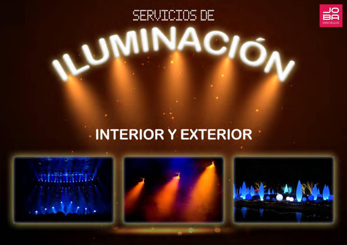 Servicio de iluminación de Espectáculos y Eventos de todo tipo - Servicio a toda España