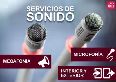 Servicio de Sonido