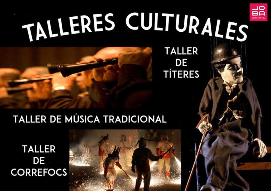 Talleres culturales infantiles - cultura valenciana - JOBA Espectáculos
